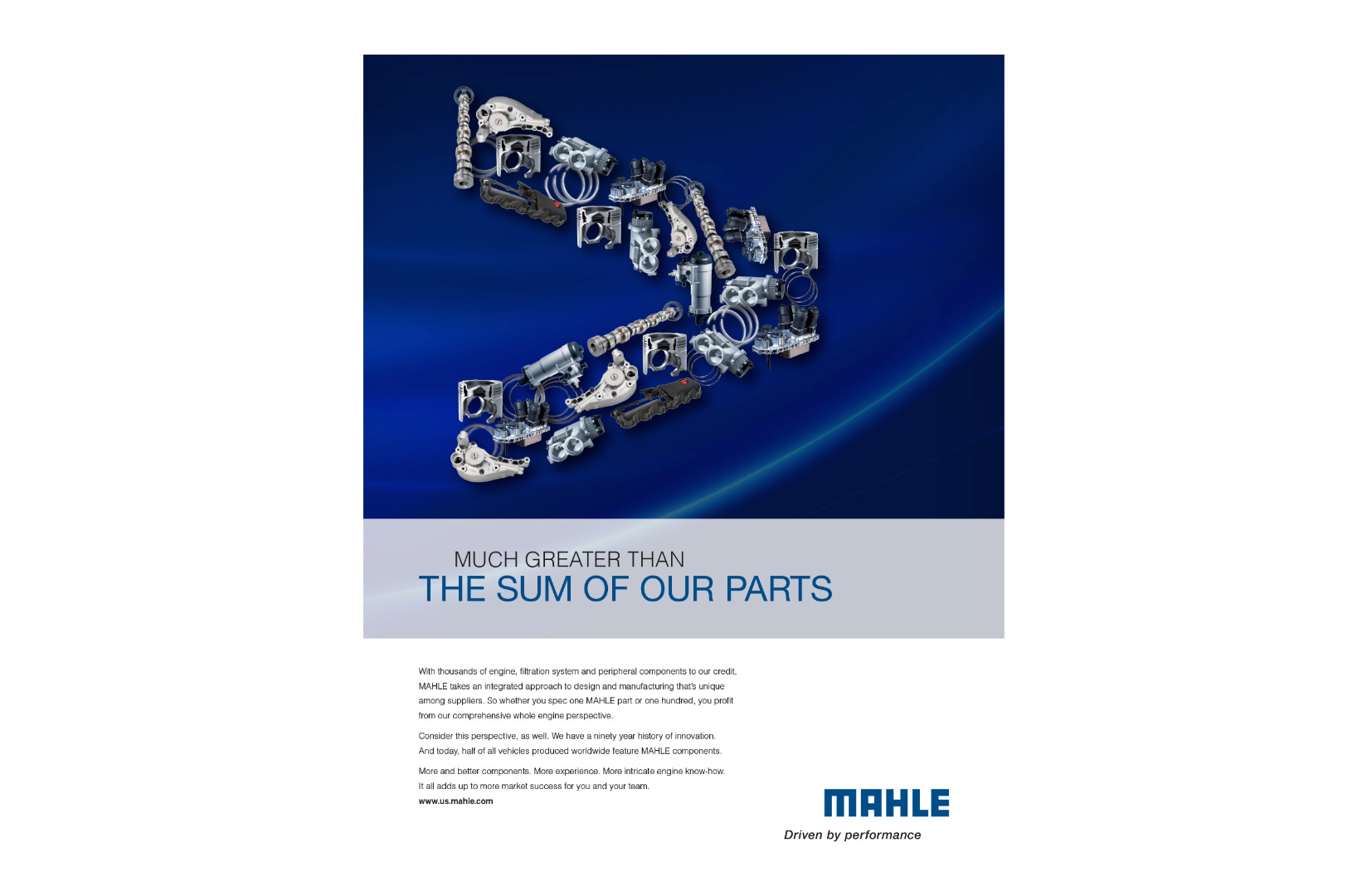 The Sum of Our Parts Print Campaign Ad 1